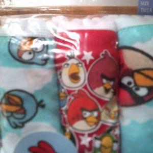 2   3pr packs of Angry Birds panties